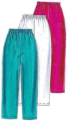 XLG-XXL McCalls Patterns M3253 Misses and Mens Cardigan Size Z Tops and Pull-On Pants