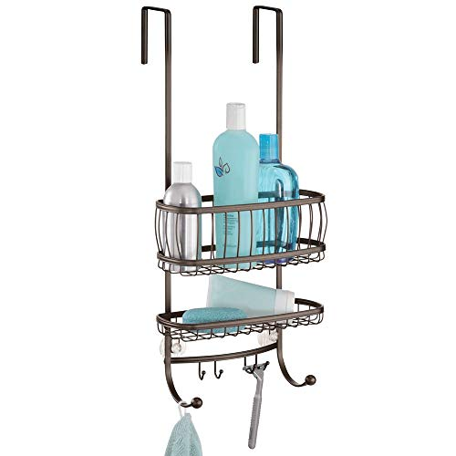 InterDesign York Over-the-Shower Door Shower Caddy