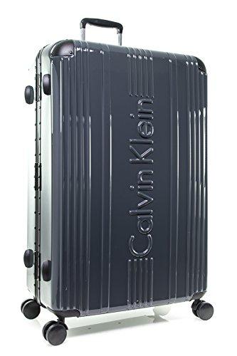 Calvin Klein Fulton 28'' Hardside Spinner Suitcase, Gray by Calvin Klein