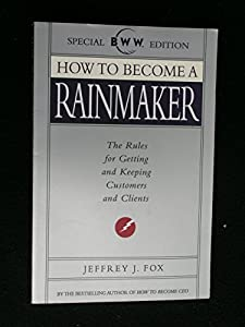 Paperback How to Become A Rainmaker Book