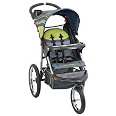 The Expedition Jogging Stroller features large bicycle tires and a front swivel wheel that can be unlocked for low speed maneuvering or locked into place for jogging. Stroller also can accept any of the Baby Trend Flex-Lock or Inertia Infant ...