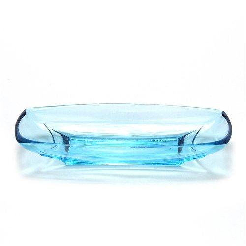 Relish Dish, Glass, Aqua Unknown