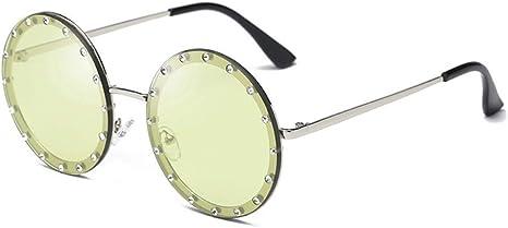 Gafas De Sol,Ronda Decorativos De Cristal Gafas De Sol Mujer Nuevo ...