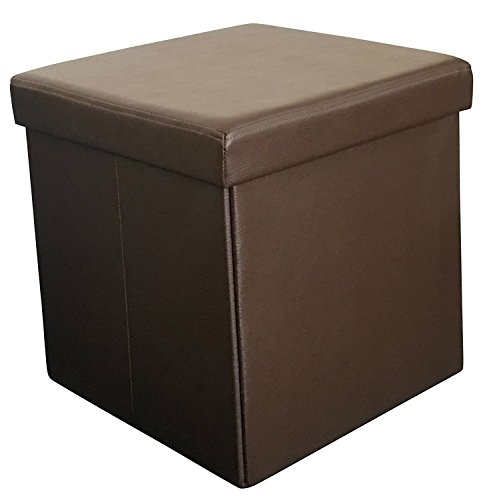 Sodynee Faux Leather Folding Shoe Storage Ottoman Cubes Bench, Foot Rest Stool Seat Table Pouf Footstools and Ottomans 15