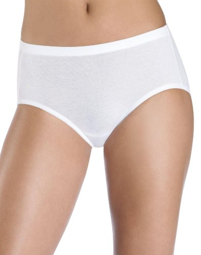 Hanes Women's Plus Low-Rise Stretch Brief with ComfortSoft® Waistband 3-Pack