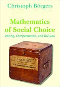mathematics of social choice voting compensation and division pdf
