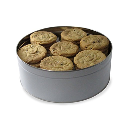 Fresh Baked Chocolate Chip Cookie Tins, Delivered in Multiple Sizes | Gimmee Jimmy's Authentic Cookies-8 Pound Gift Tin - The Perfect Thank You Gift