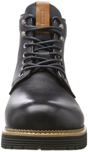 para Tommy Chukka Jeans 1a Hombre Shadow Dark Negro Botas L2385ouis wXrp7Xfq