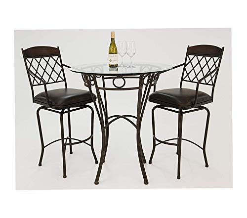 Impаctеrrа Deluxe Premium Collection Napa Ridge Dining Set Bronze Decor Comfy Living Furniture