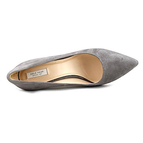 Cole Haan Dames Eliza Grand Pump 85mm Stormcloud Suede