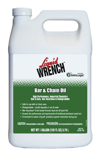 Liquid Wrench LB15-1G-4PK Bar and Chain Oil - 1 Gallon, (Case of 4) (1 Bar Charlotte)