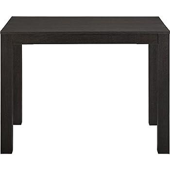 Ameriwood Home Parsons Desk With Drawer, Black Oak