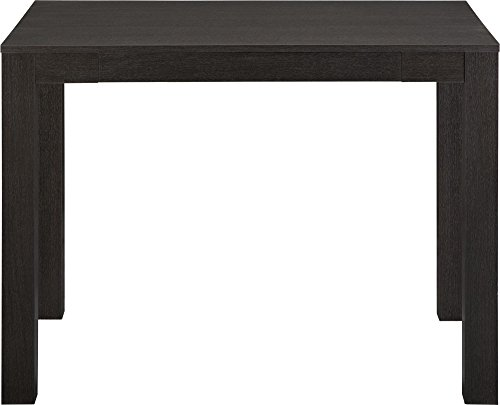 Altra Furniture Parsons Desk with Drawer for Home Office Bla