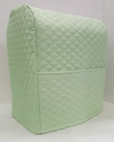 Penny's Needful Things Quilted Cover Compatible with Kitchenaid Stand Mixer (Sage Green, 4.5,5,6qt Lift Bowl)