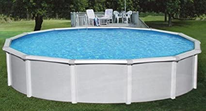 "Amazon.com: Blue Wave NB1644 24\' Round 52"" Samoan Steel Pool ..."