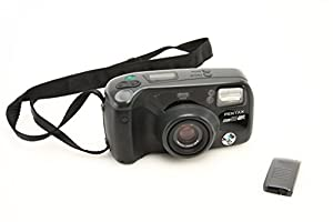 Pentax IQZoom 90WR Weather Resistant Compact 35mm Film Camera with Remote