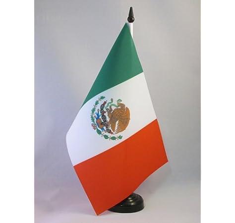 AZ FLAG Bandera de Mesa de MÉXICO 21x14cm - BANDERINA de DESPACHO ...