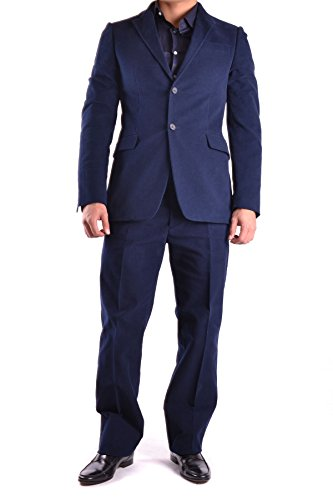 Costume National Homme MCBI074016O Bleu Coton Costume