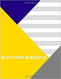 Book Music Paper Workbook: Brass Trio