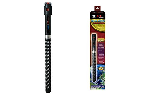 S.T. International Microchip Controlled Digital Aquarium Heater with Thermal Powder Diffusion, 300-watt by S.T. International
