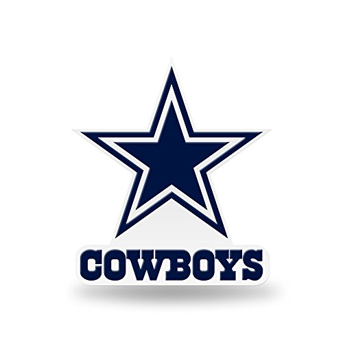 Dallas Cowboys Magnets (Rico NFL Dallas Cowboys Team Color Auto Emblem 3D Sticker)