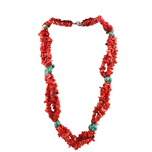SUNYIK Necklace Tumbeld Beaded Choker product image