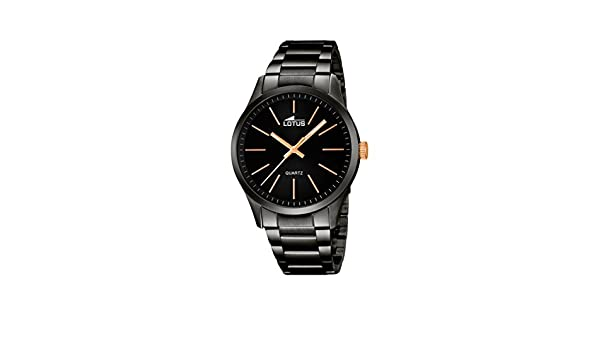 Amazon.com: Mens Watch - Lotus - Stainless Steel Band - 18162/2: Watches