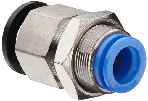 SMC KB Series Polybutylene Terephthalate Piping Module Manifold, Bulkhead Connector, 12mm Tube OD x M22x1 Female
