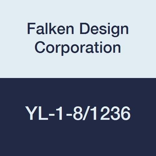 Falken Design YL-1-8//1236 Acrylic Yellow Sheet 12 x 36 1//8 Thick 14/% Translucent