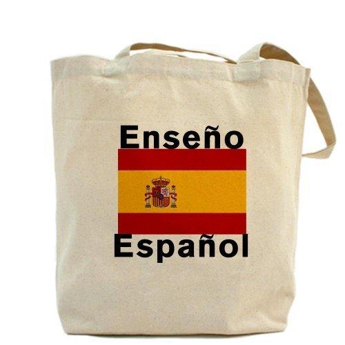 Cafepress Unique design spagnolo Teacher Tote bag–standard multi-color by Cafepress