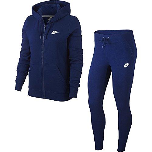 Trk Nike W Femme blue Survêtement Bleu Void Flc white Nsw EEPqr