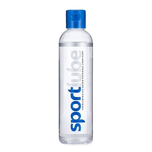 SportLube Premium Water-Based Lubricant (8.1 Ounce) - Personal Lubrication for Men and Women - Long Lasting, Hypoallergenic, Odorless (Best Lube For Male Masturbation)