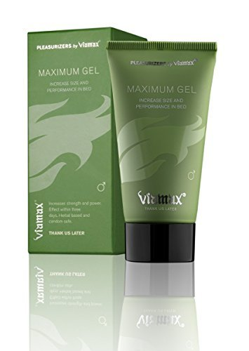 Viamax Maximum Gel - Male Enhancement Gel (Effectively Stimulates the Blood Flow, Which Enhances Penis Stamina and Creates More Powerful Erections) by Viamax (Male Penile Enlargement)