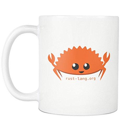 Happy Rustacean 11oz Coffee Mug / Cup