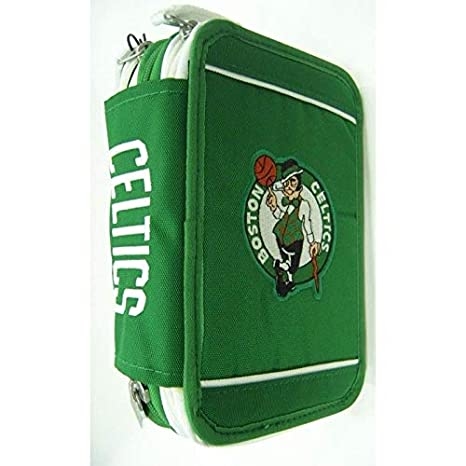 Estuche Escolar NBA Boston Celtic 3 Niveles Cremallera ...