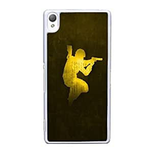 Generic Design Back Case Cover Sony Xperia Z3 Cell Phone Case White igry onter strajk counter strike Fahmk Plastic Cases