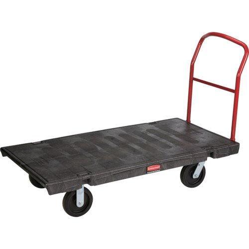 Rubbermaid Plastic Platform Truck - Rubbermaid Commercial Heavy-Duty Platform Truck, 2,000 lbs. Capacity, FG446600BLA