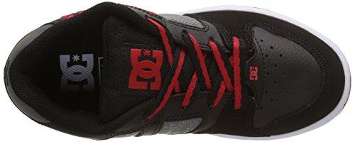 DC ShoesSceptor - Zapatillas de Deporte niños negro - Noir (Black/Grey/Red)