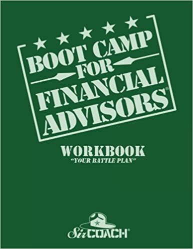 Book Boot Camp for Financial Advisors Workbook 'Your Battle Plan'