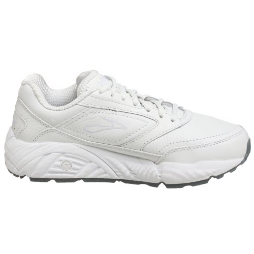 Brooks Damen Addiction Walker Laufschuhe, Weiß (White), 43 EU