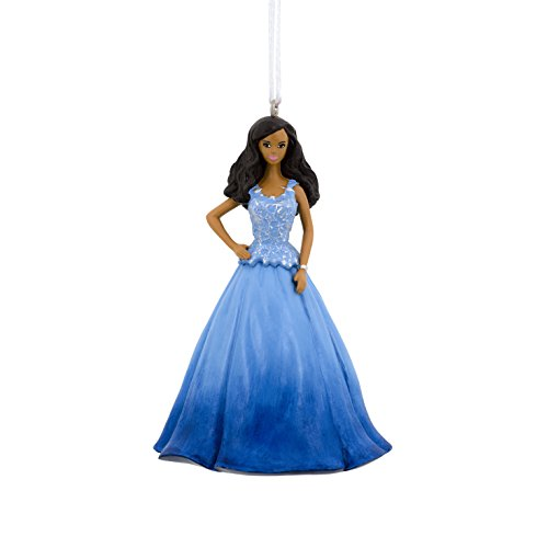 Holiday Barbie Christmas Ornament by Hallmark (African American)