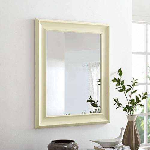 Naomi Home Framed Wall Mirror Cream