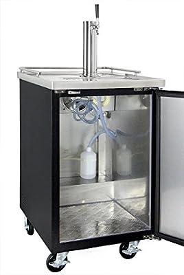Kegco XCK-1 Commercial Restaurant Bar Kegerator Beer Dispenser with no dispense kit