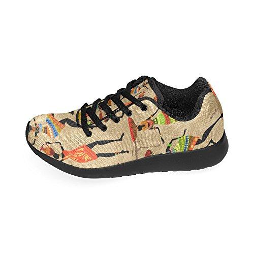 D-story Jogging Running Sneaker Mujeres Casual Comfort Deportes Zapatillas Para Correr Multi2