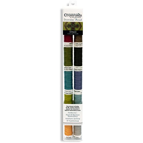 - Sulky 712-29 Grand Collection Crossroads Cotton Petites 12 Weight ,10 Pieces Per Pack , Multicolor