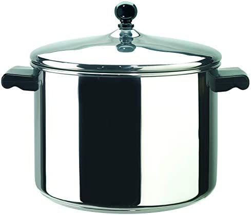 Farberware Classic Series Stainless Steel 8-Quart Covered Stockpot