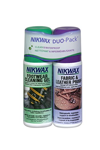 Nikwax Fabric Care (Nikwax Fabric & Leather Footwear Clean/Waterproof DUO-Pack)