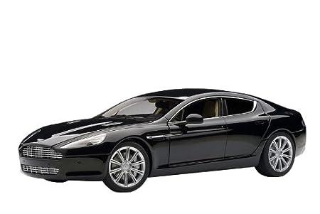 Amazon Com Aston Martin Rapide Schwarz Black Autoart 1 18 Toys