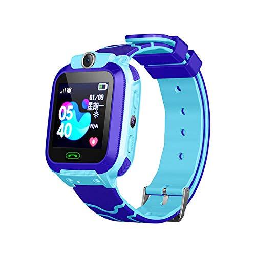 Kinder GPS Intelligente Uhr,Smartwatch GPS Tracker mit Kinder SOS Handy Touchscreen Spiel Kamera Voice Chat Wecker Anti…