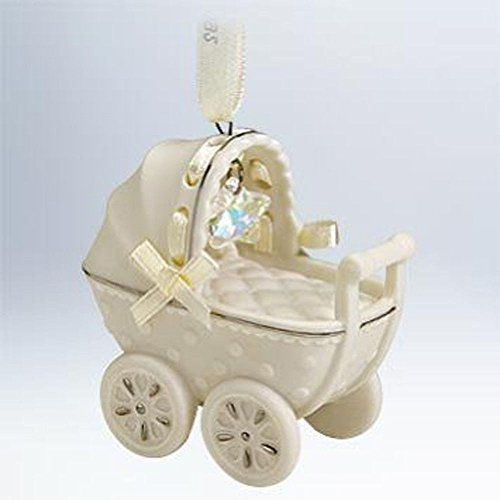 Hallmark Keepsake Ornament Babys First Christmas Buggy 2011 ()